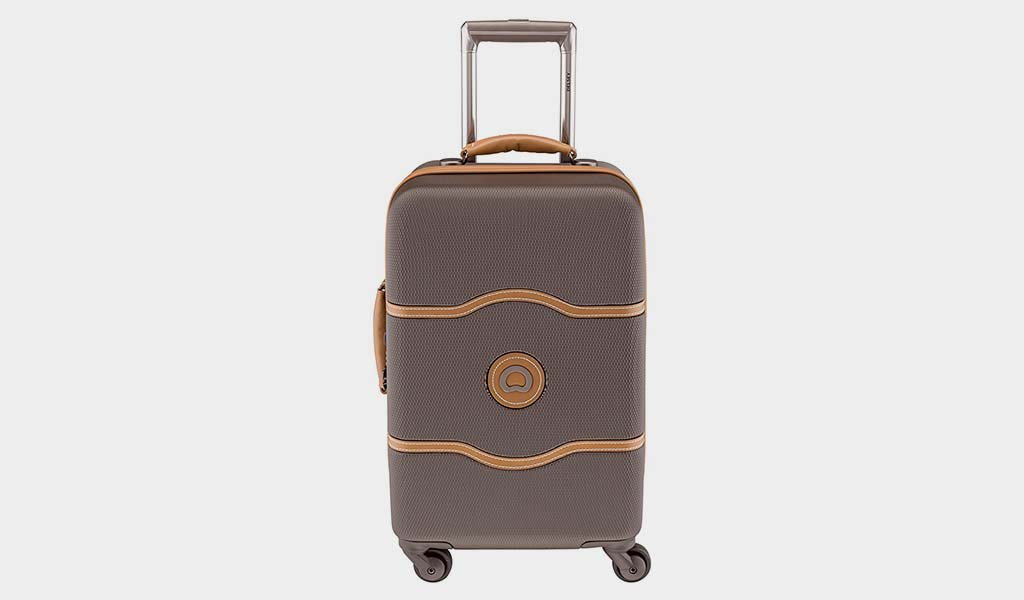 Delsey Paris Luggage Chatelet Hard 21 Inch Carry On