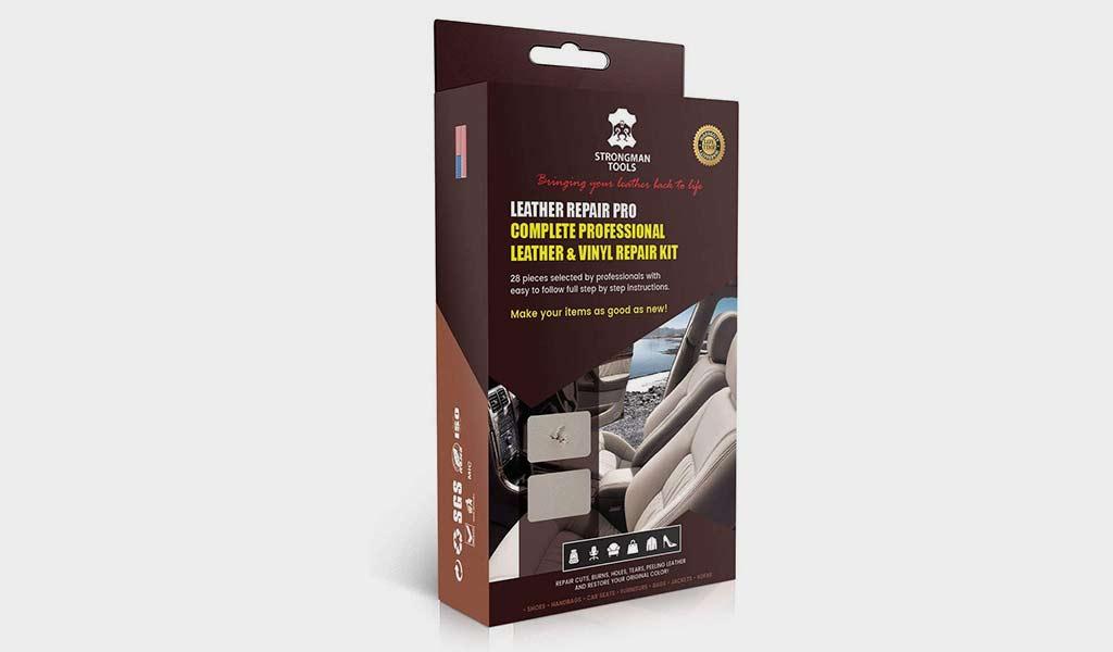 Strongman Tools 28 Piece Professional  Leather Vinyl Repair Kit