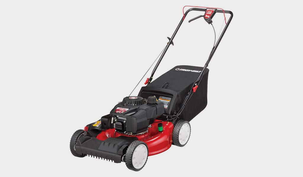 Troy-Bilt FWD High Wheel Lawn Mower under 300