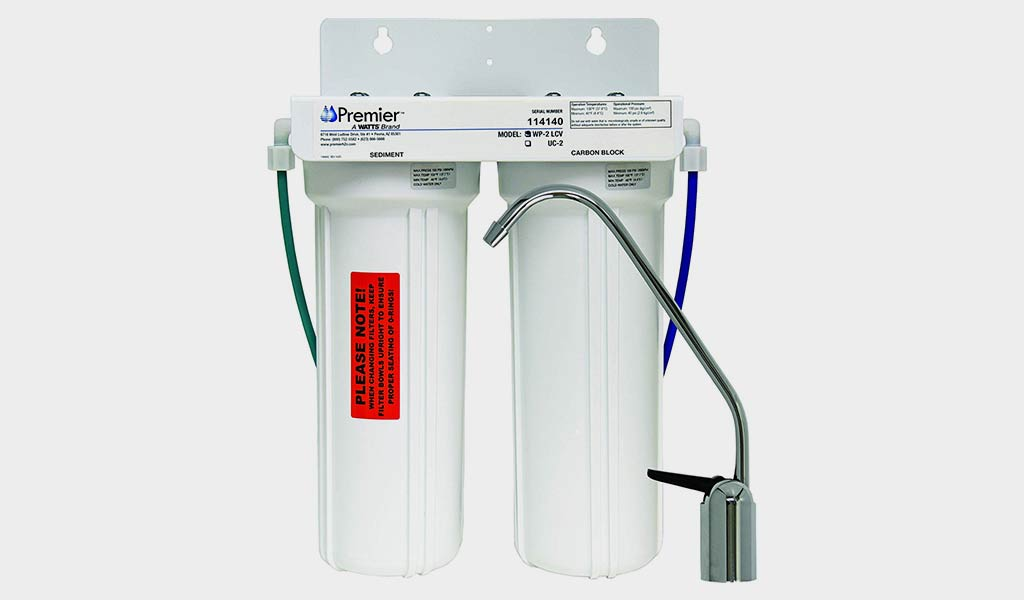Watts WP500313 Undercounter Cyst, Lead, and VOC Reducing Drinking Water Filtration System