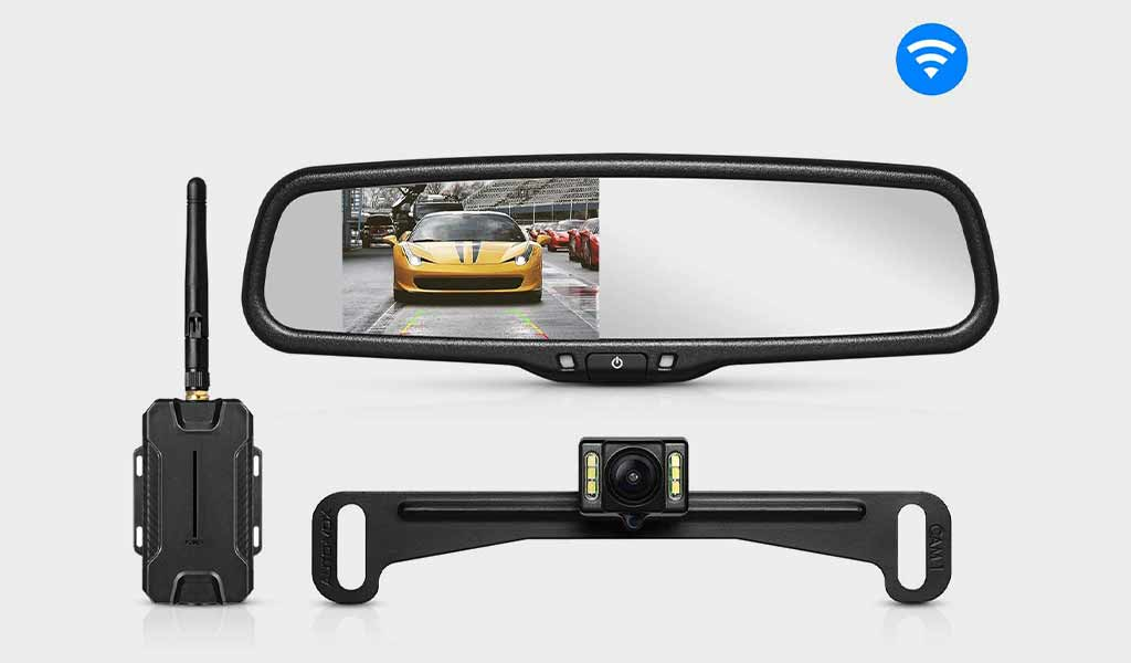 AUTO-VOX Car Rearview - Mirror Dash Camera