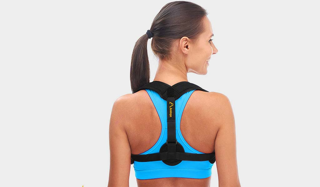 Posture corrector by AND-EGO- Back Posture Corrector For Men & Women
