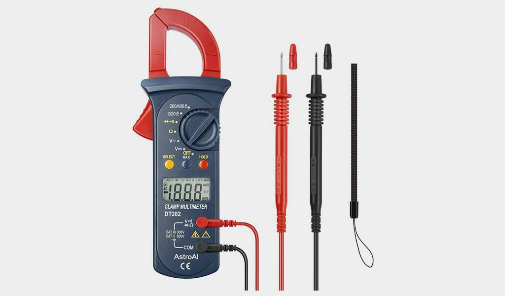 AstroAI 202D Digital Clamp Multimeter