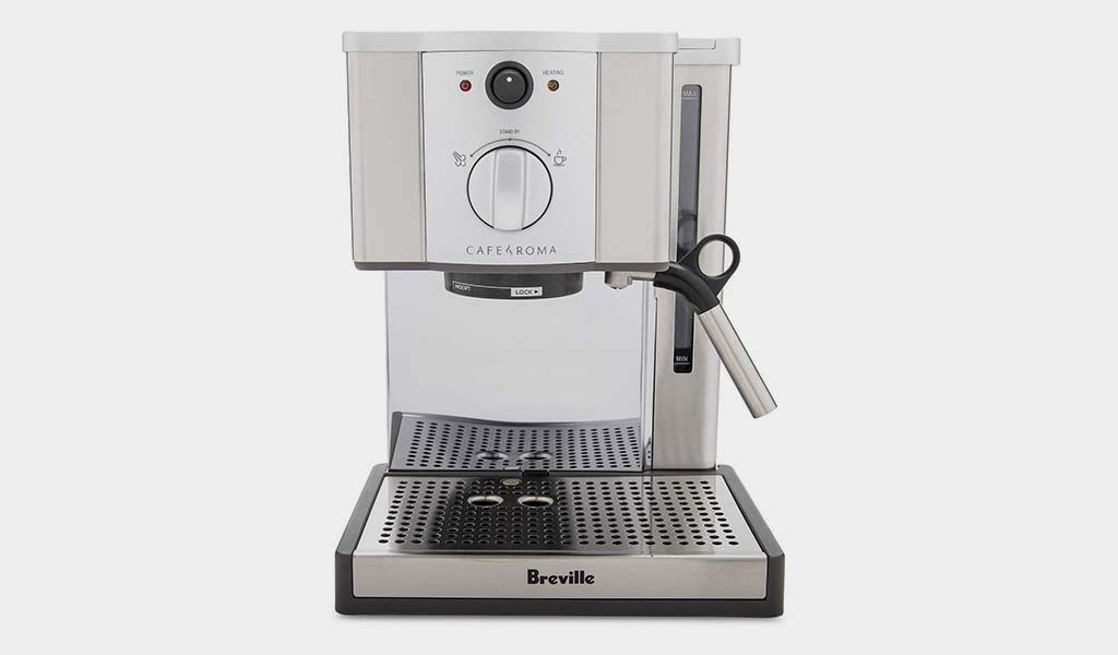Breville ESP8XL Cafe Roma Stainless Espresso Maker - The Robot