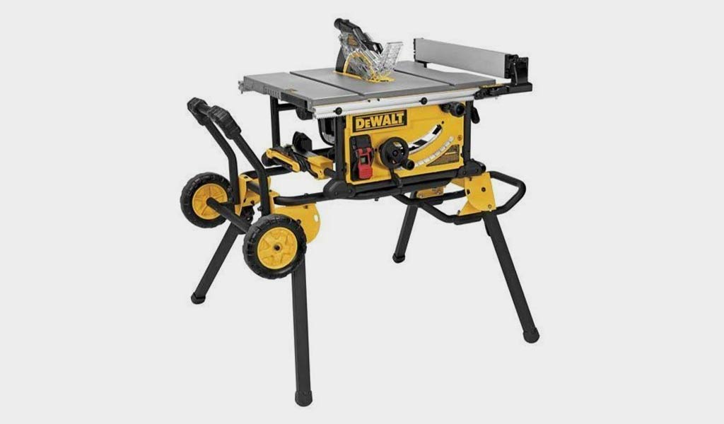 DEWALT 10-Inch Portable Table Saw - 32-1/2-Inch Rip Capacity