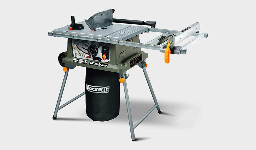 Rockwell RK7241S Table Saw with Laser