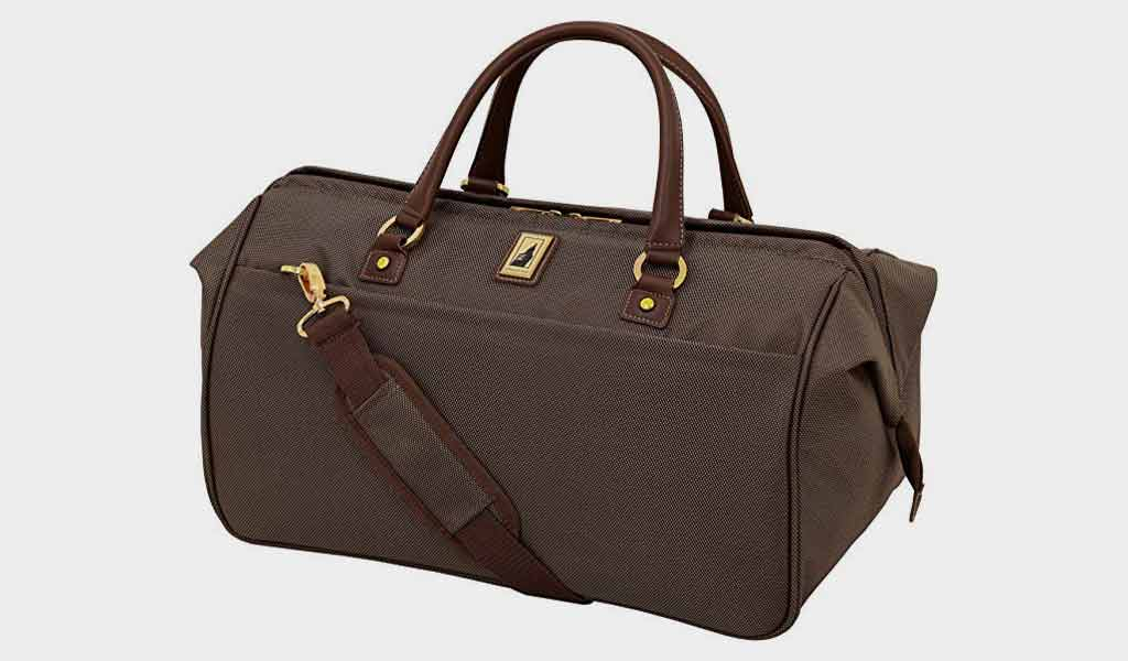 London Fog Kensington - 20 Inch Wide Mouth Duffle