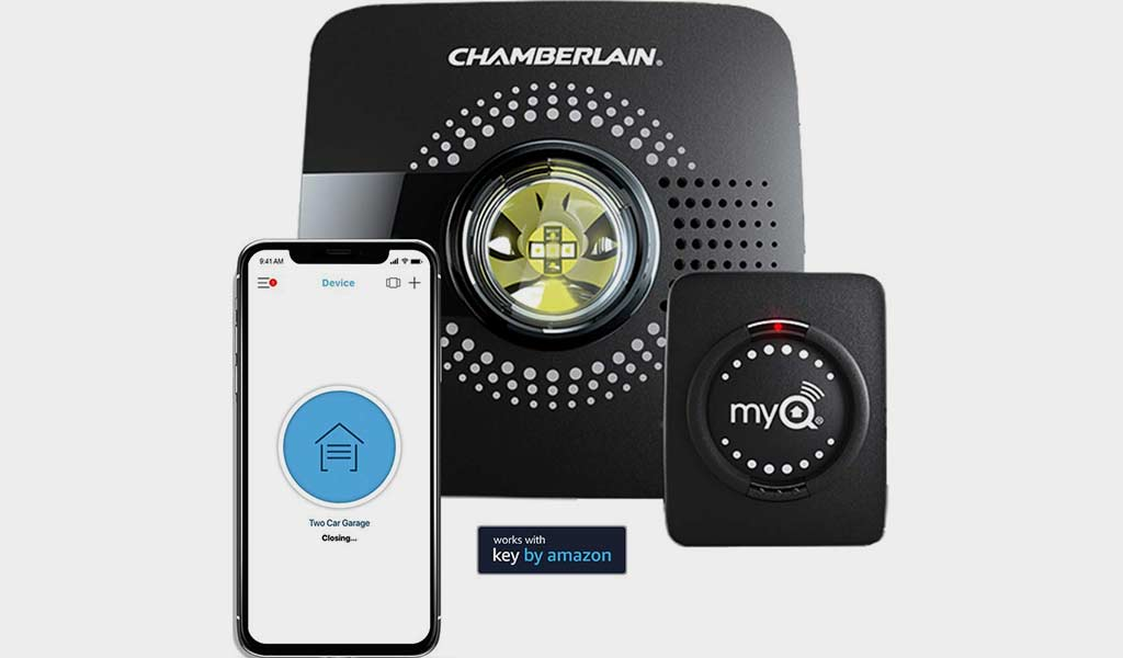 MyQ Smart Garage Opener Chamberlain Wireless & Wi-Fi enabled Garage