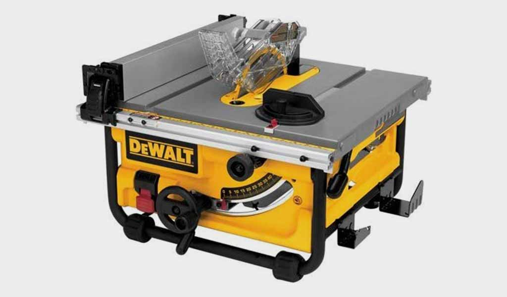 DEWALT DWE7480 10 - Compact Job Site Table Saw