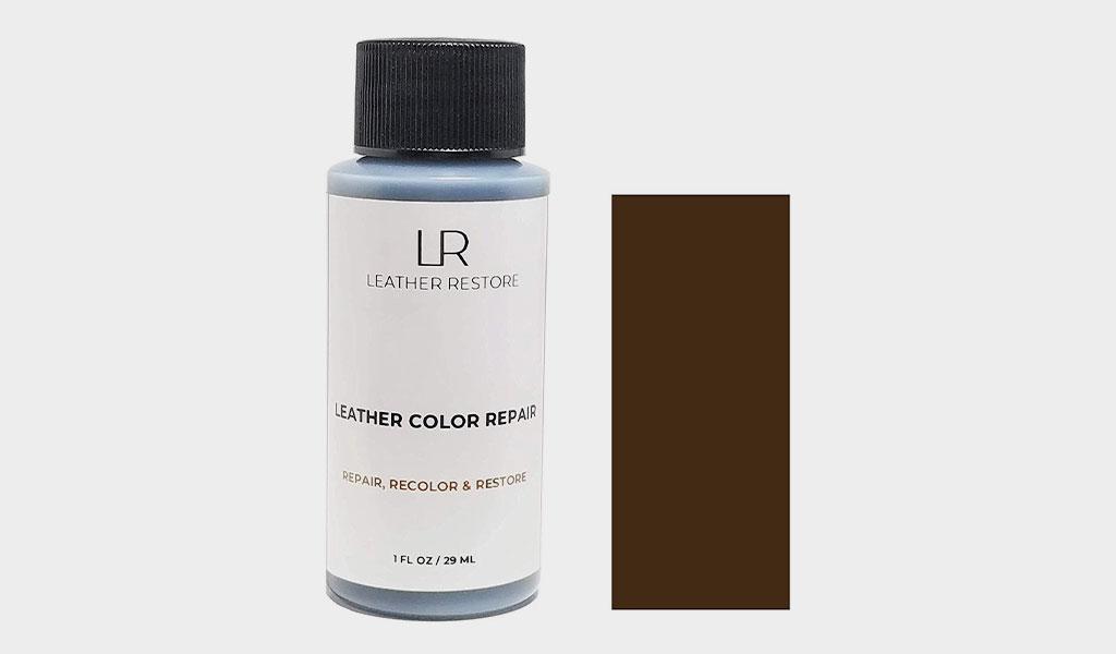 Leather Restore Leather Color Repair - Dark Brown 1 OZ - Repair