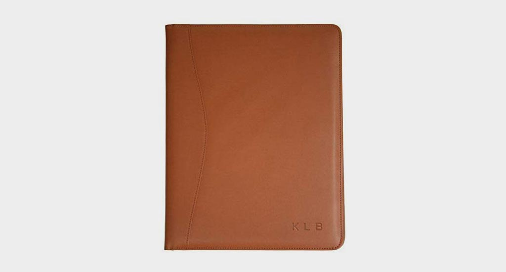 Leather Writing Portfolio by ROYCE LEATHER