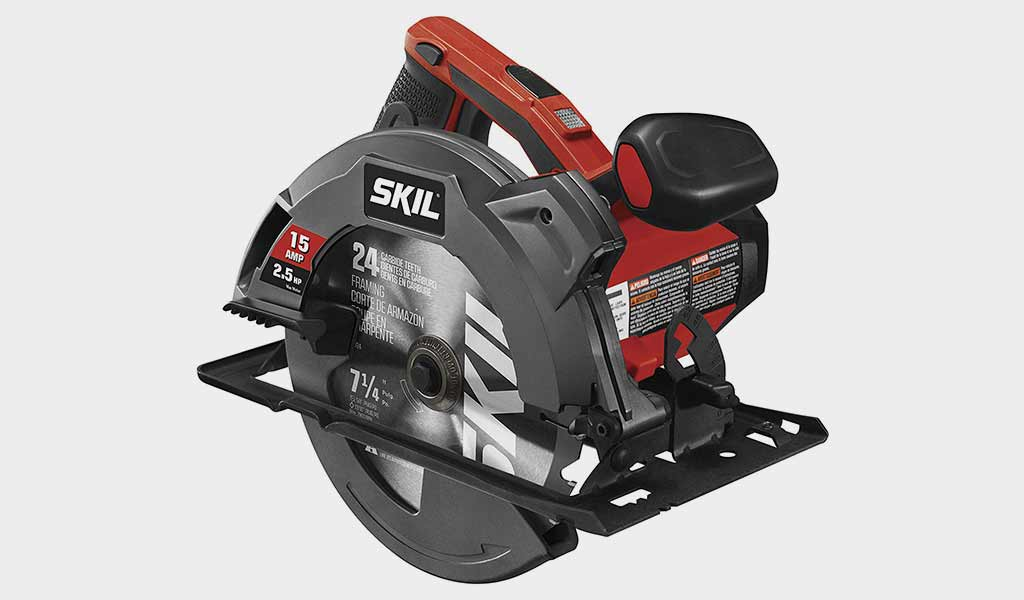 SKIL 15-Amp 7-1/4-Inch Circular Saw with Single Beam Laser Guide