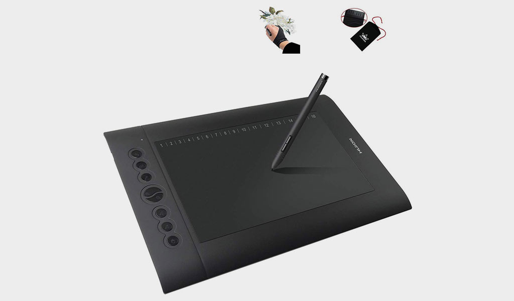 Huion H610 Pro Graphic Tablet
