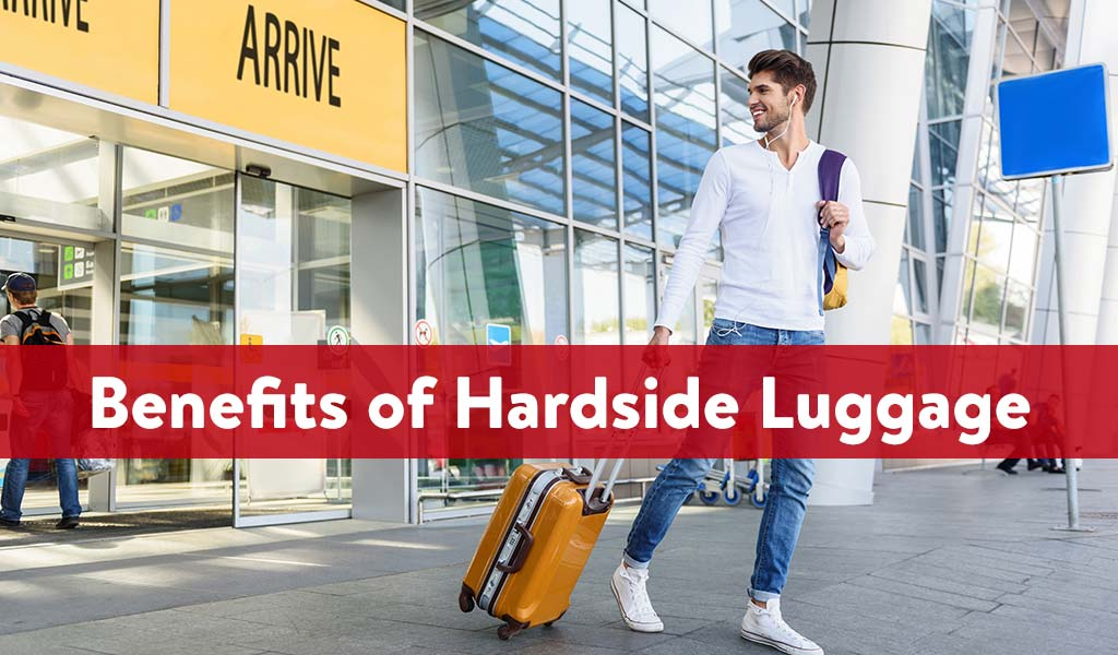 Benefits of Hardside Luggage