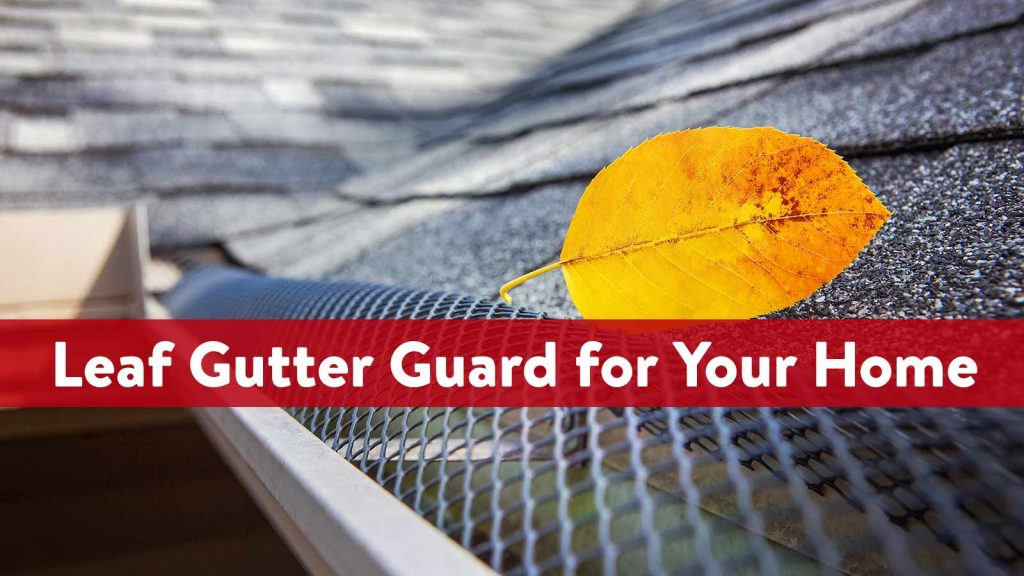 Best Leaf Gutter Guard for Your Home