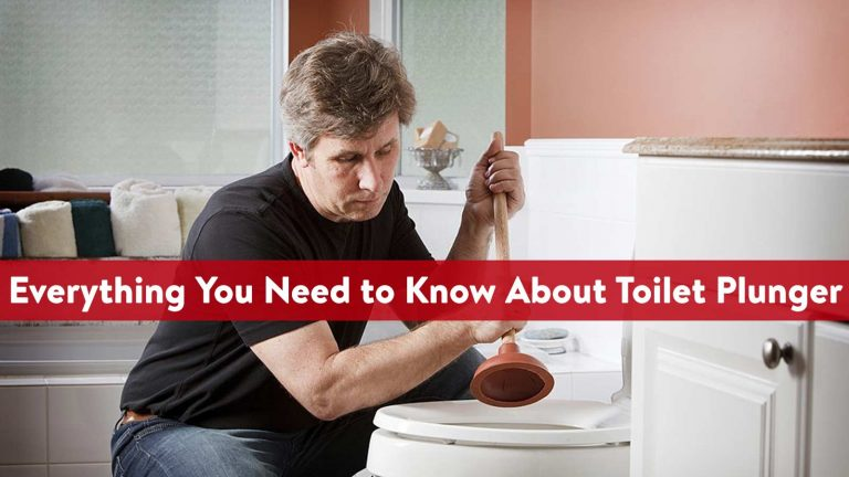 Everything You Need to Know About Toilet Plunger