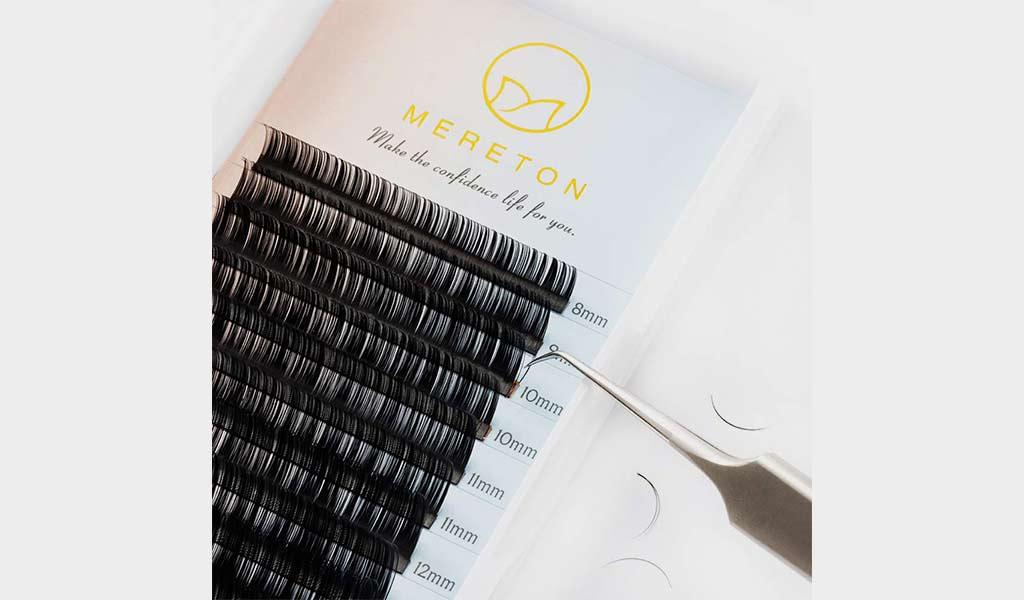 Mink Eyelash Trays Eyelash Extensions 8mm, 10mm, 12mm, 14mm 4 Trays Single Lashes by the KC Republic