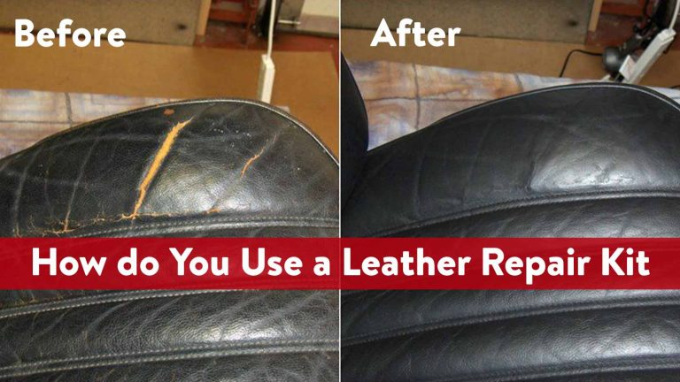 How do You Use a Leather Repair Kit