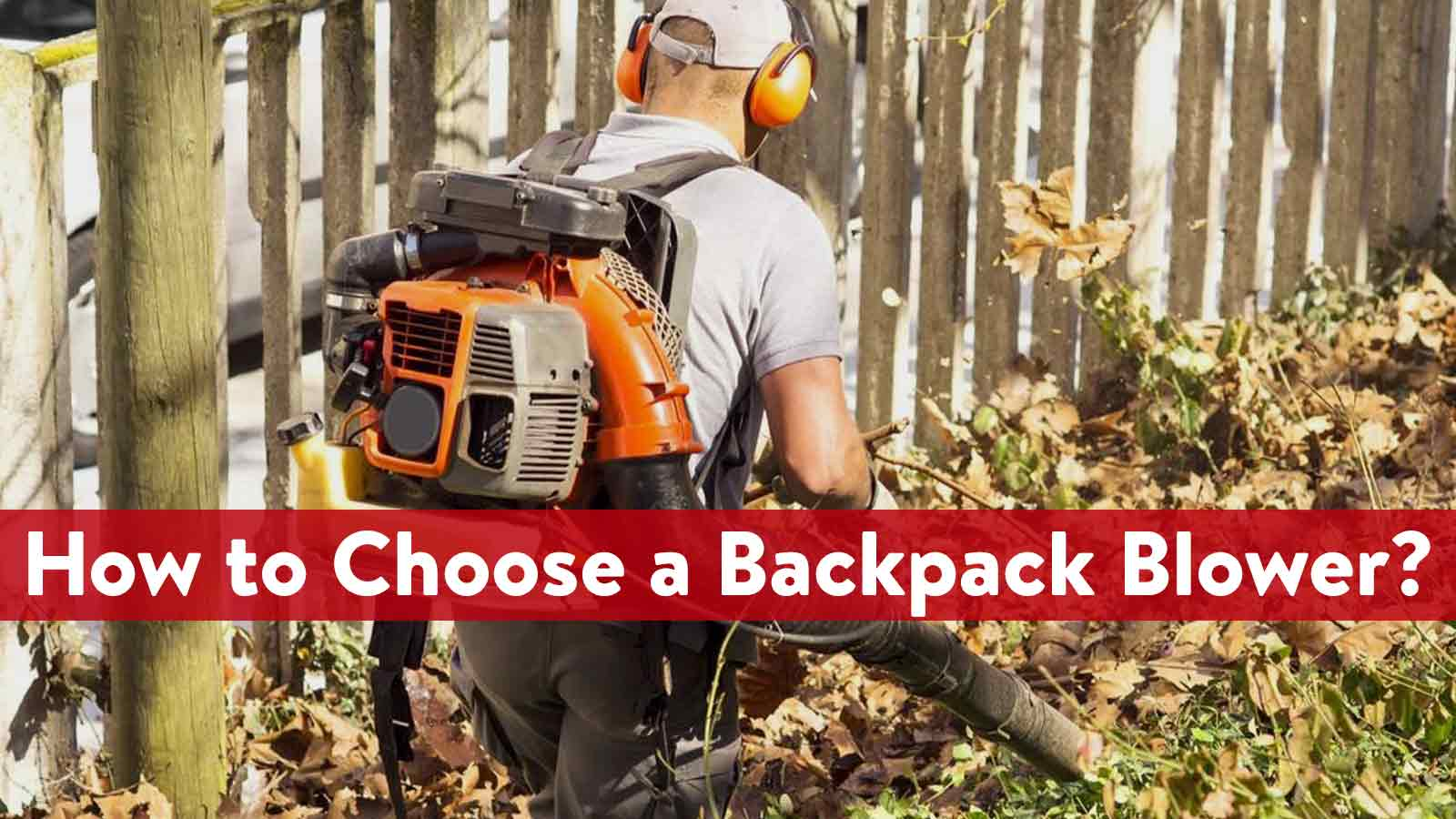 How to Choose the Right Backpack Blower