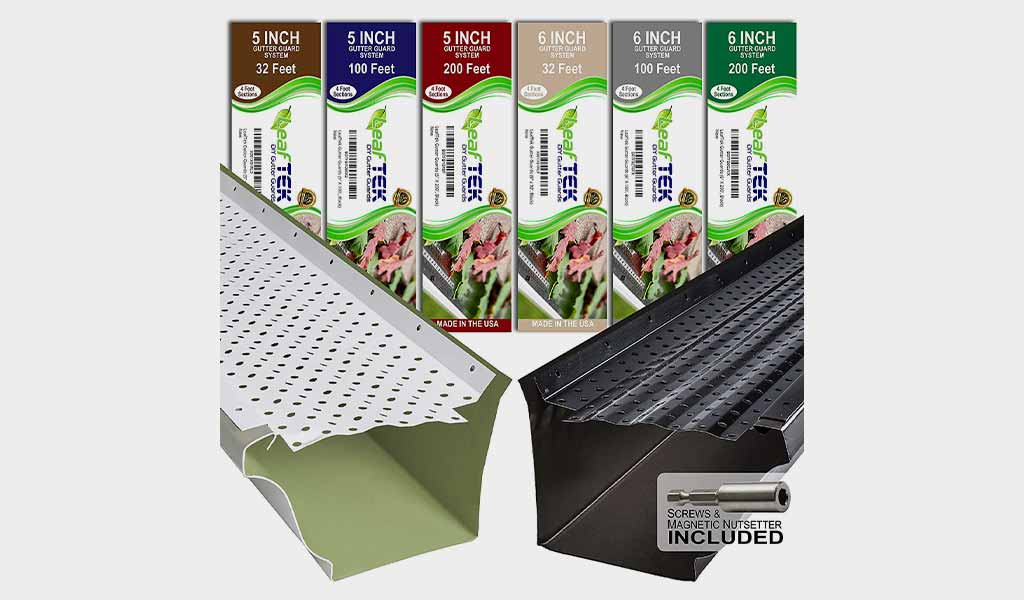 LeafTek Gutter Guard Leaf Protection