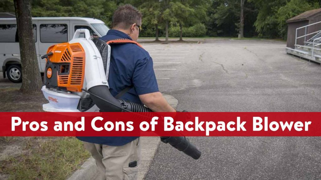 Pros and Cons of Backpack Blower
