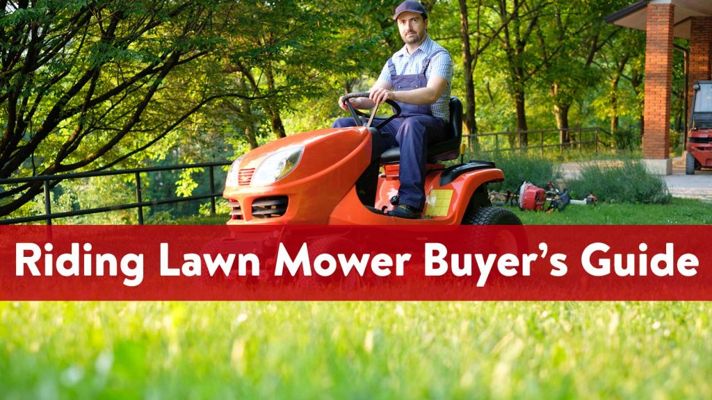 Riding Lawn Mower Buyer's Guide