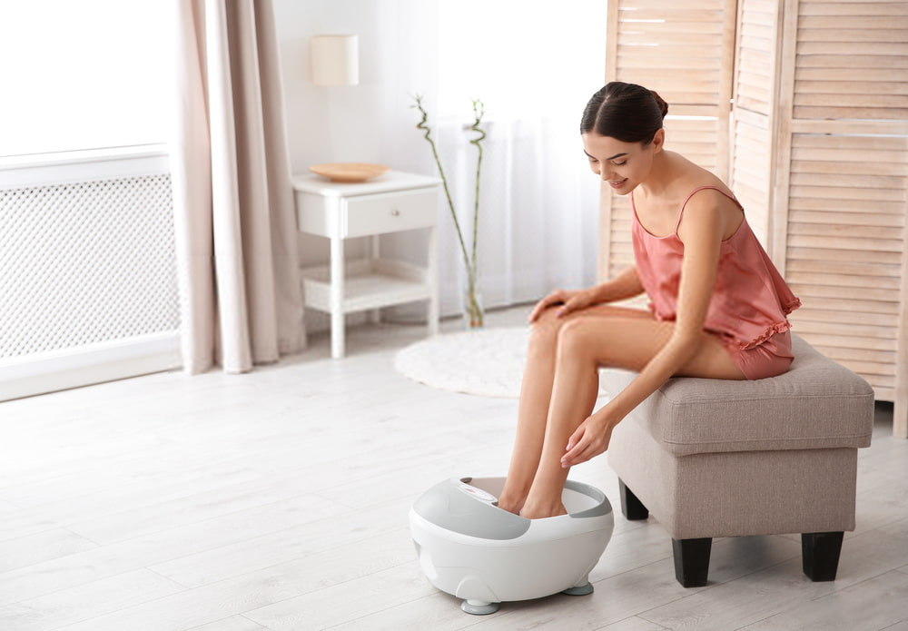 How foot spa works and usage