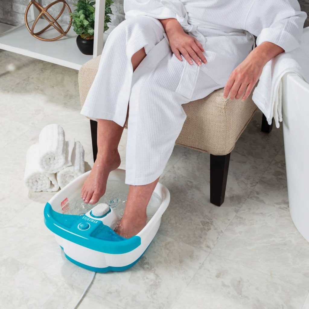 common problems of foot spa